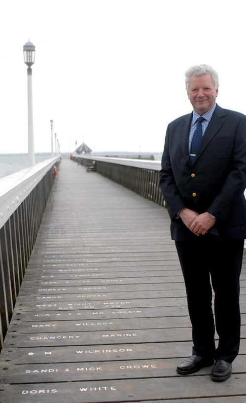 Ten years ago, Richard Gribble was due to treat Yarmouth Pier for the destructive gribble worms.