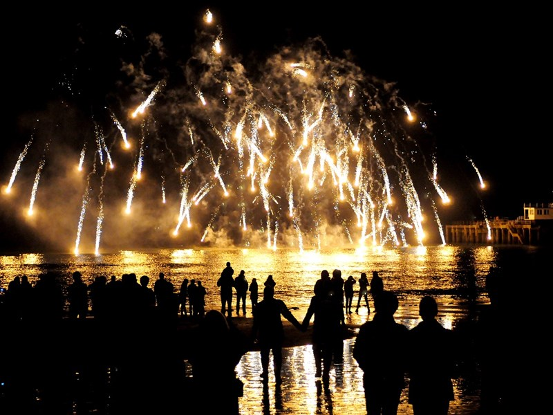 Organisers have said that the fireworks may have to come to an end if they don't receive enough donations.
