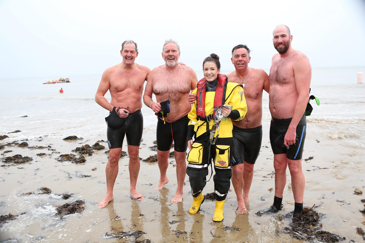 New Year's Day swim Ryde 2018 3
