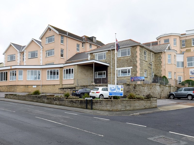 Channel View Hotel, in Shanklin, is up for sale. Photo by Peter Boam.