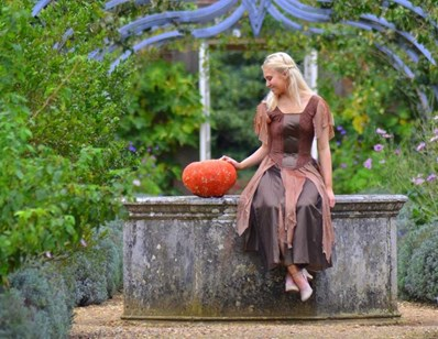 Izzi Rudd as Cinderella at Osborne House. Picture by ALLAN GREGORY
