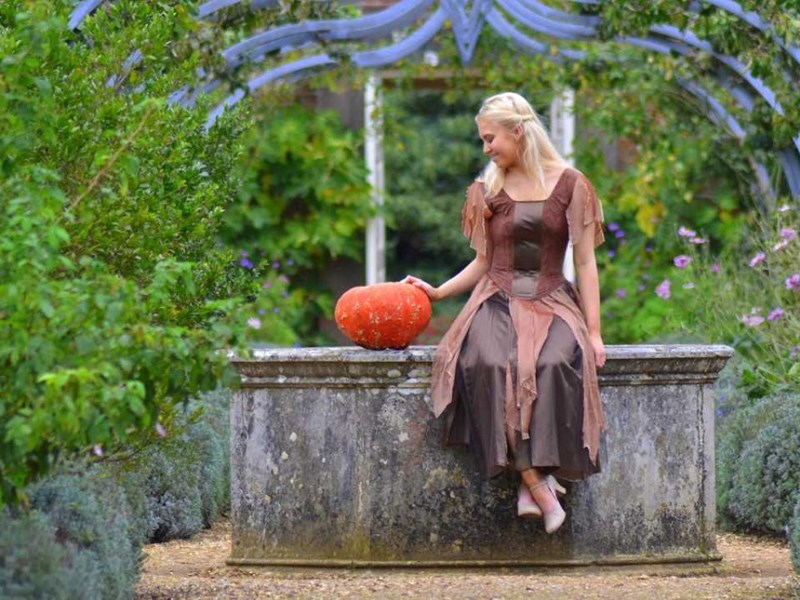Izzi Rudd as Cinderella at Osborne House. Picture by Allan Gregory.
