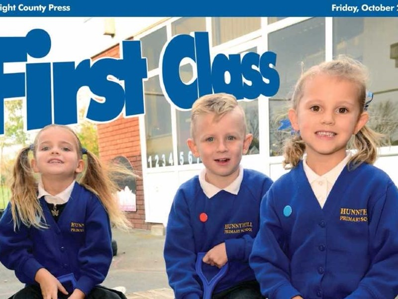 The First Class supplement is out today (October 20).
