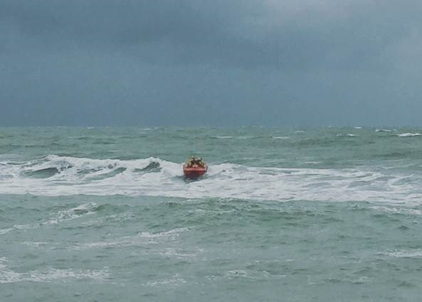 Freshwater Lifeboat was involved in the search. Picture courtesy of Freshwater Lifeboat.