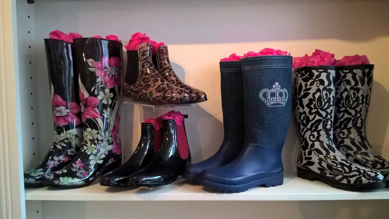 wellies stolen from Number One Fragrance and Accessories Cowes