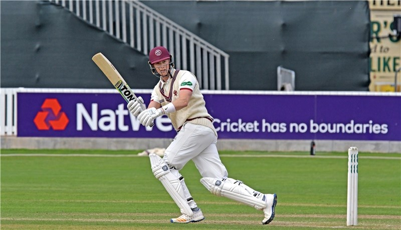 Adam Hose playing for Somerset. Picture by Alain Lockyer.