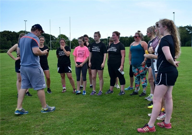The second Inner Warrior event at Wootton Recreation Ground proved to be another success.