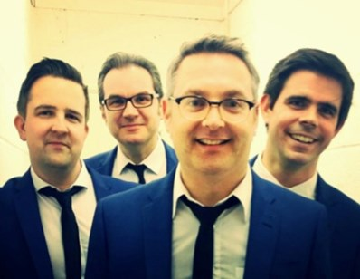 The Toledos who will be performing at Ventnor Arts Club.
