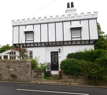 An Englishman's home is his castle… and this Grade II-listed detached home in Upton Road, Ryde, looks the part.