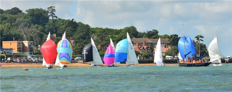 Action from this year's Cowes Week.