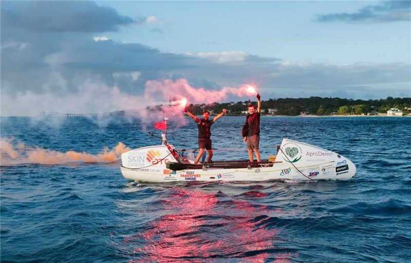 Ocean Brothers Greg Bailey and Jude Massey rowed across the Atlantic — picking up a Guinness World Record along the way.