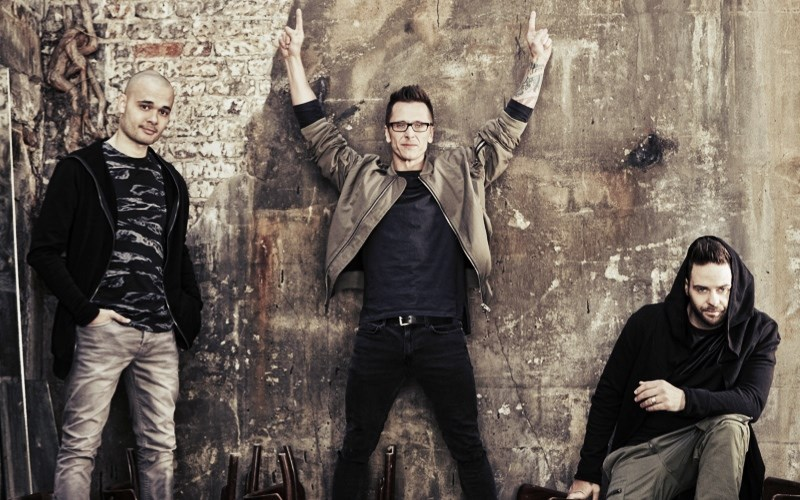 Sean Conlon, Ritchie Neville and Scott Robinson of Five, who will be performing at Jack Up The 80s festival.