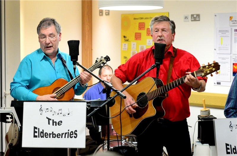 The Elderberries will perform in Freshwater this Saturday.