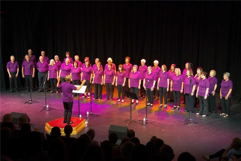 The Melodic Choir performing at Medina Theatre.