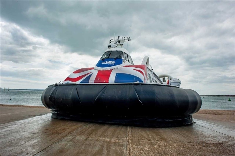 The Island Flyer hovercraft. Picture by Hovertravel.