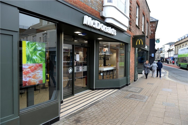 McDonald's restaurants on the Isle of Wight have been affected by a national bacon shortage.