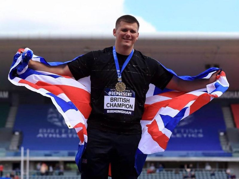 Isle of Wight discus thrower Nick Percy has been selected for the IAAF Great Britain squad.