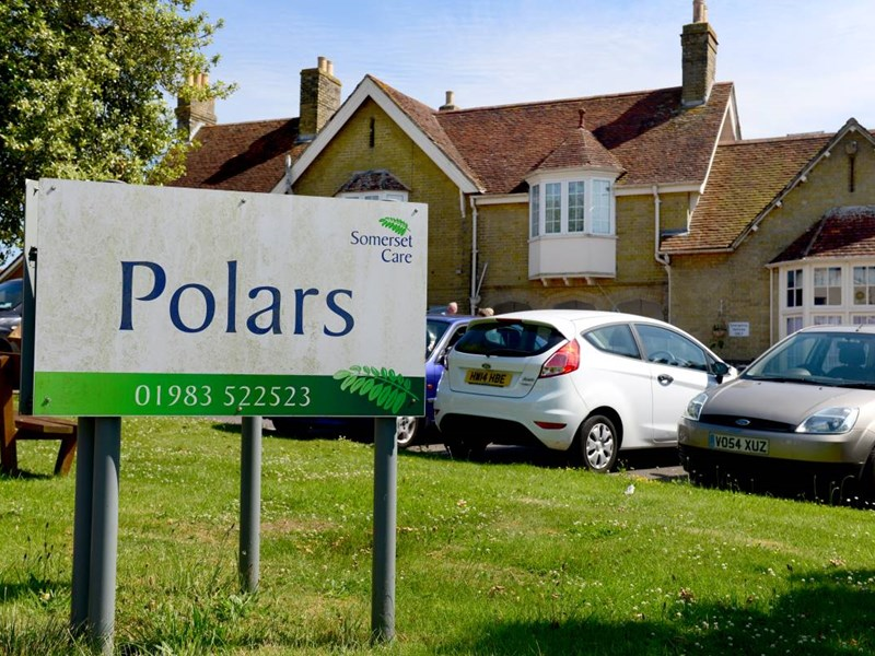 Polars residential care home in Newport is set to close. Picture by Chris Cornford.