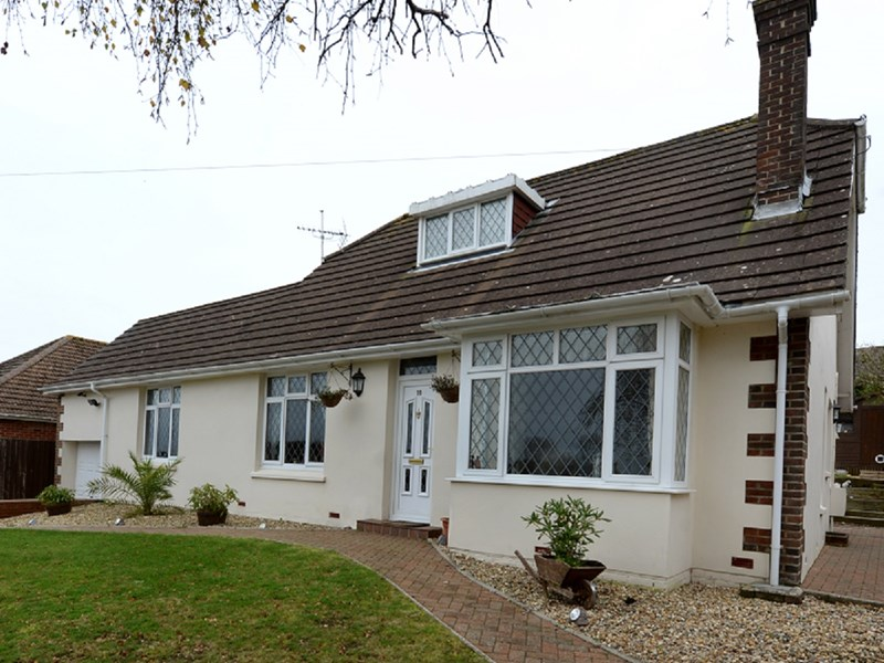 When is what appears to be a bungalow, not a bungalow? When it boasts six bedrooms across two floors — as with this fine home in Sibden Road, Shanklin.