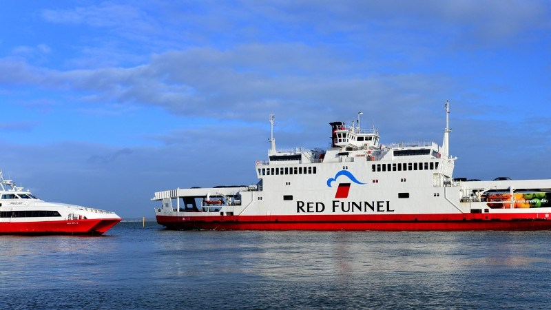 Police were called to the Red Funnel Southampton terminal to deal with an incident on the ferry.
