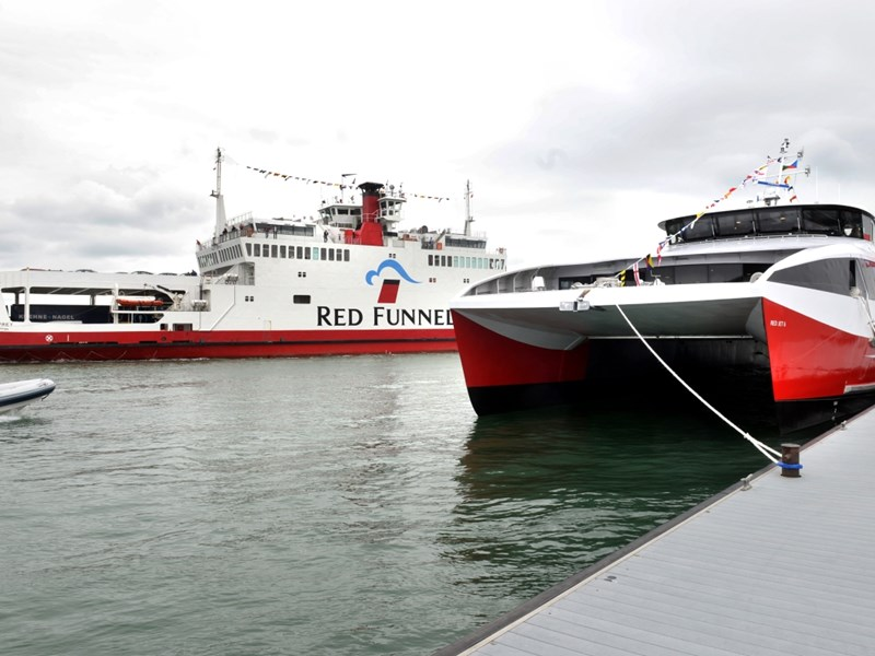 Isle of Wight ferry company Red Funnel was sold in the summer.
