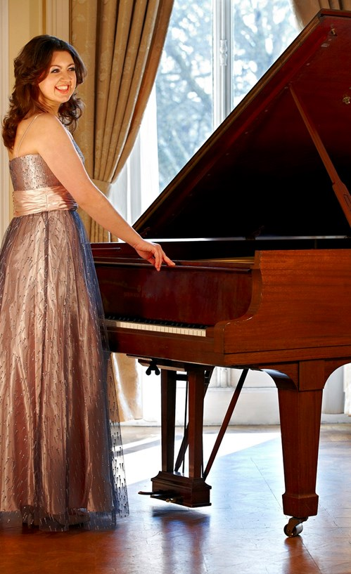 Alexandra Dariescu, who is returning to the Island for West Wight Arts Association's first concert of the year.