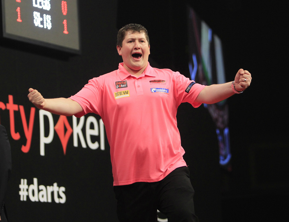 Keegan Brown stuns James Wade at Darts World Championship