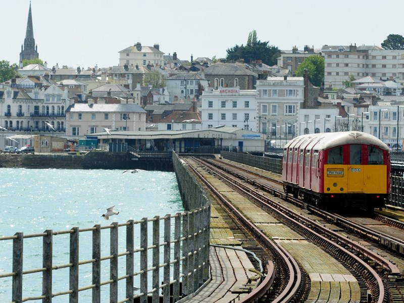 The old Island Line trains, once used on the London Underground, are up for replacement.