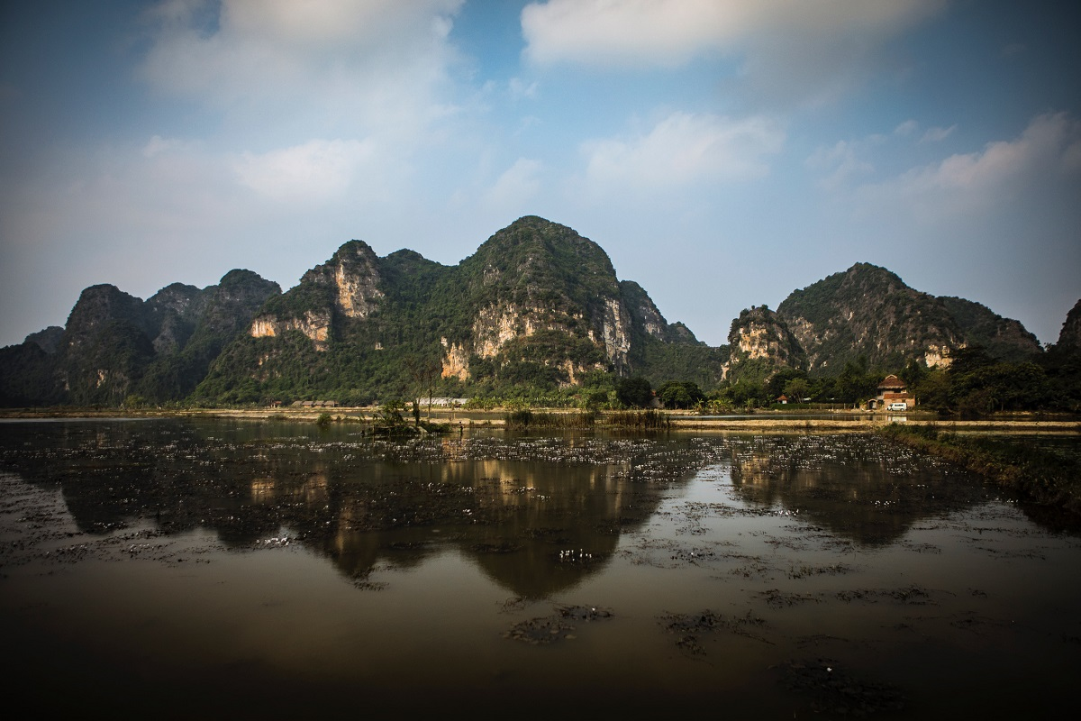 Tam Coc Southern Vietnam by Jason Moore