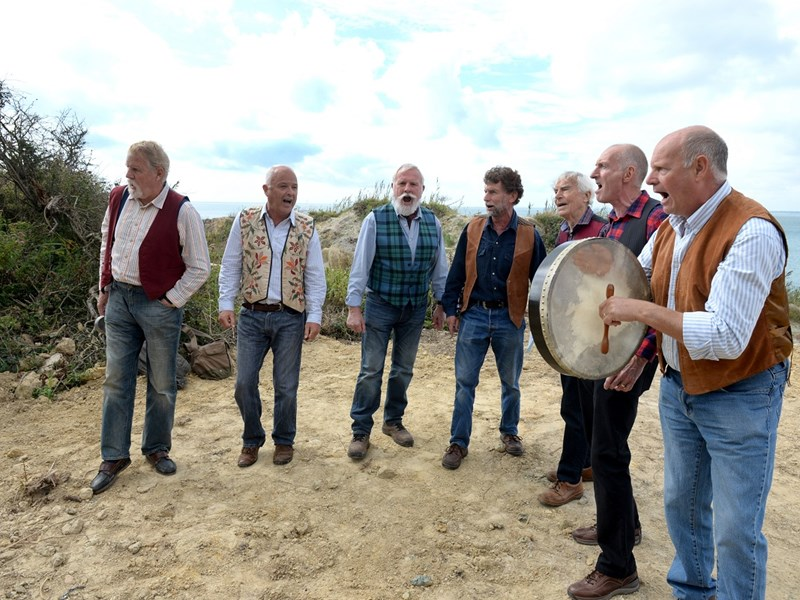 The Brighstone Barnacles, who will be playing a charity concert.