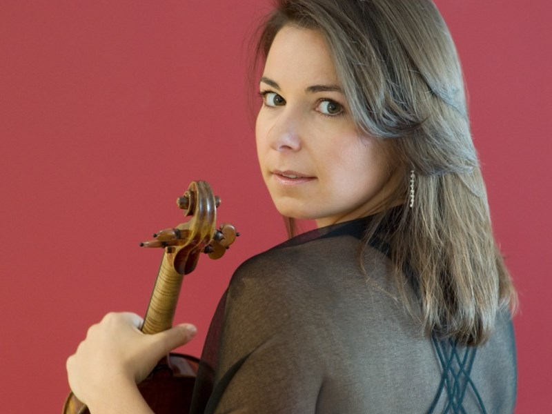 Violinist Melina Mandozzi, who will be performing with the IW Symphony Orchestra.